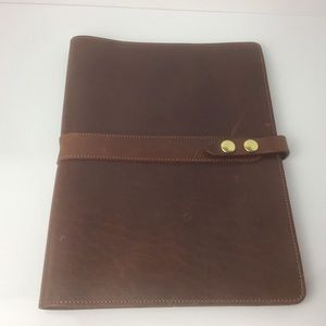 Leather Padfolio, Handmade in the USA